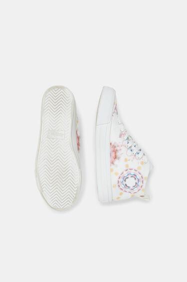 High-top sneakers lace tie-dye | Desigual