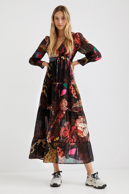Boho long dress