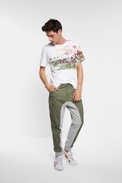 Spodnie hybrydowe w stylu cargo