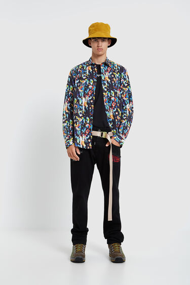Long-sleeved colourful shirt | Desigual