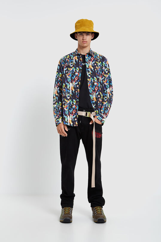 Long-sleeved colourful shirt | Desigual