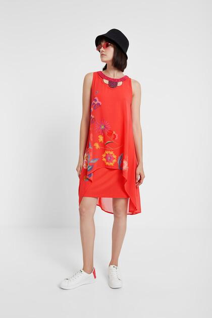 Ethnic floral dress