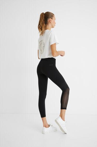 Długie legginsy z troczkiem | Desigual