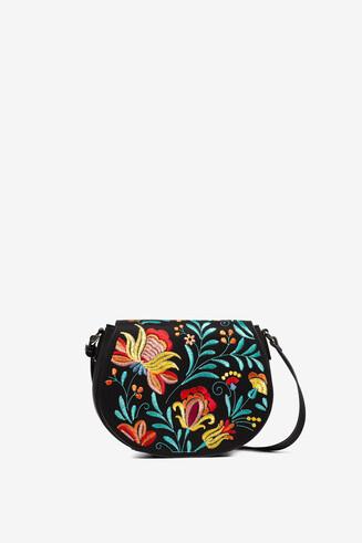 Floral print sling bag