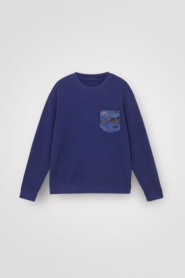 ポケット付き 長袖Tシャツ | Desigual