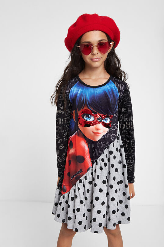 Ladybug fit 'n' flare dress | Desigual