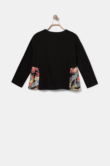 T-shirt flounced sides | Desigual
