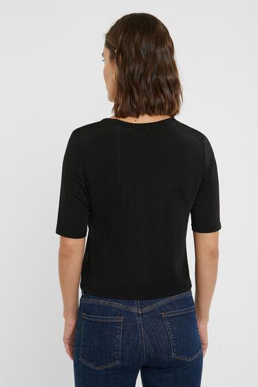 Slim monogram T-shirt | Desigual