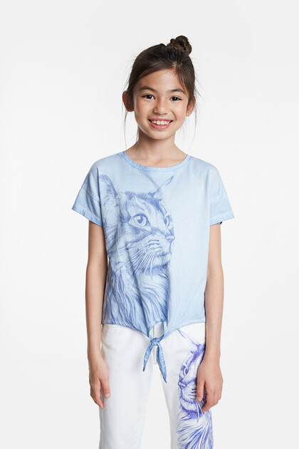 T-shirt cat bolimania