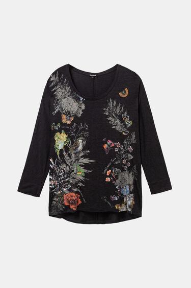 T-shirt oversize fleuri | Desigual