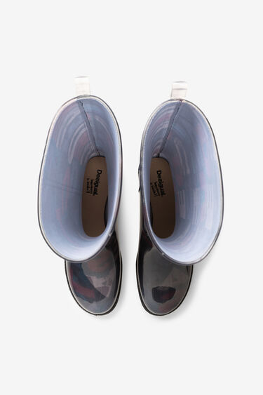 Logomania rain boots | Desigual