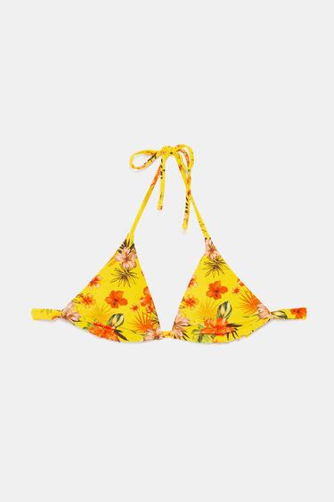 Haut de bikini triangulaire réversible | Desigual