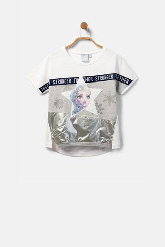 """Frozen 2"" reversible sequinned T-shirt"