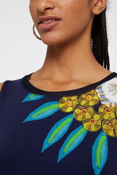 Short floral dress | Desigual