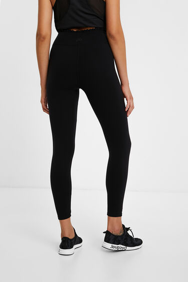 Slim taffeta leggings | Desigual