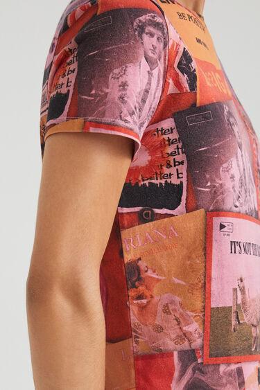 T-shirt met digitale patch | Desigual