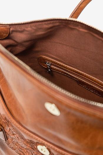 Geblümte Tasche mit Verschlussklappe | Desigual