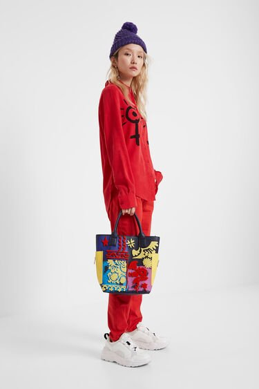 Bag with inner mini-bag | Desigual
