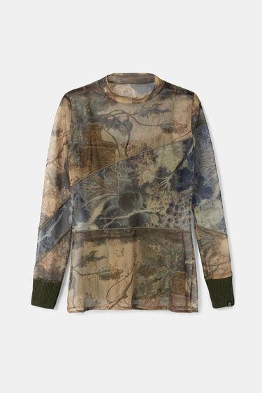 スリムフィット アーティTシャツ | Desigual
