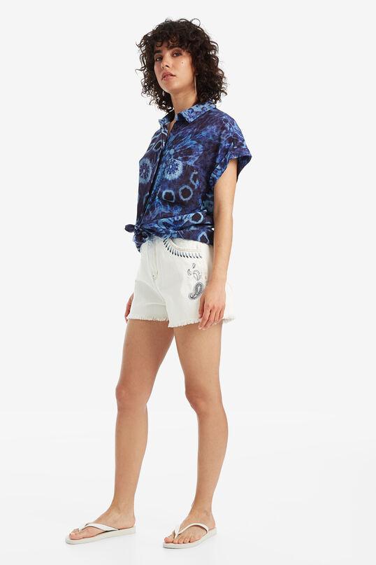 Tie-dye viscose shirt | Desigual