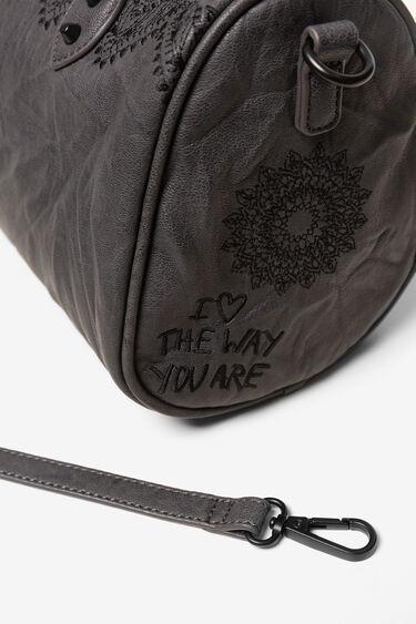 Energy leather-effect bag | Desigual