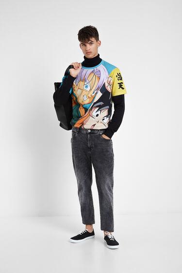 T-shirt fusion Dragon Ball | Desigual