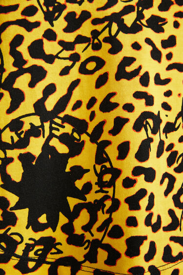 Samarreta màniga curta animal print | Desigual