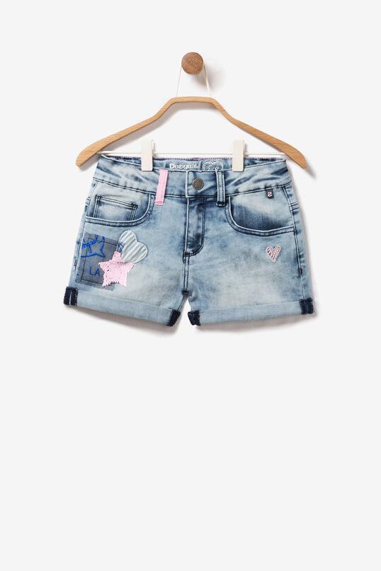 Denim Patch Shorts Maestre | Desigual