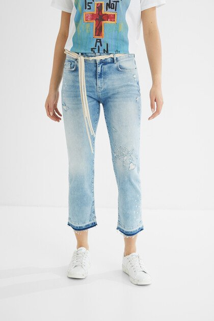 Slim jeans cropped