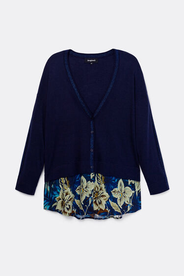 Tricot jumper with buttons | Desigual