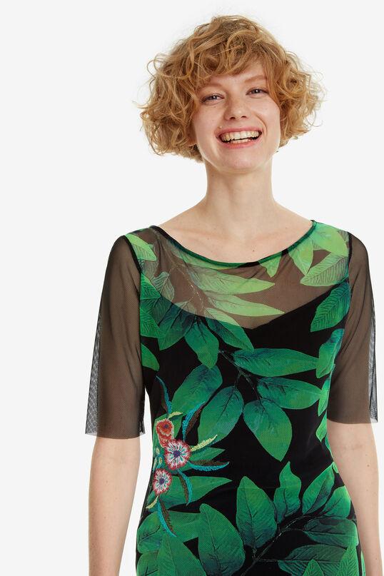 Slim Boat-Neck Dress Brooklyn   Desigual