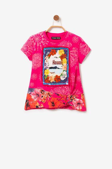 サイドギャザー入りTシャツ | Desigual
