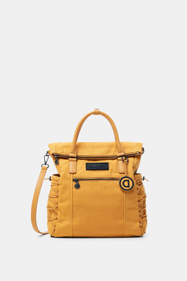 Square canvas backpack | Desigual