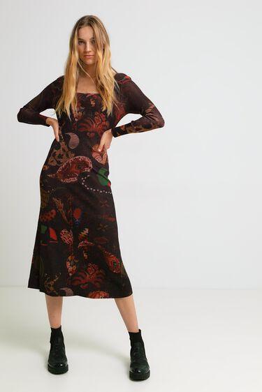 Vestido largo paisley | Desigual