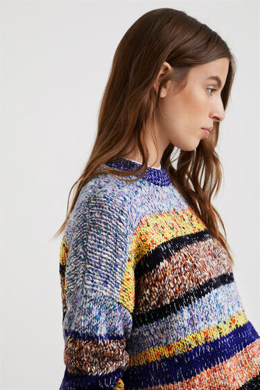 Pull tricot chiné | Desigual