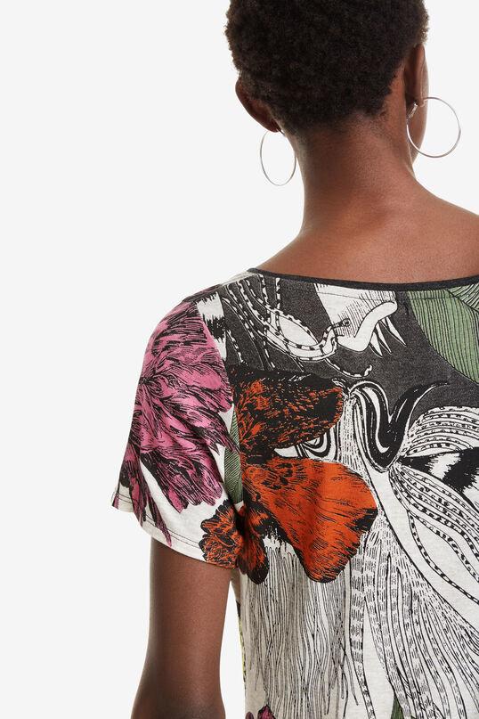 Asymmetrisches Blumenshirt Sioux | Desigual