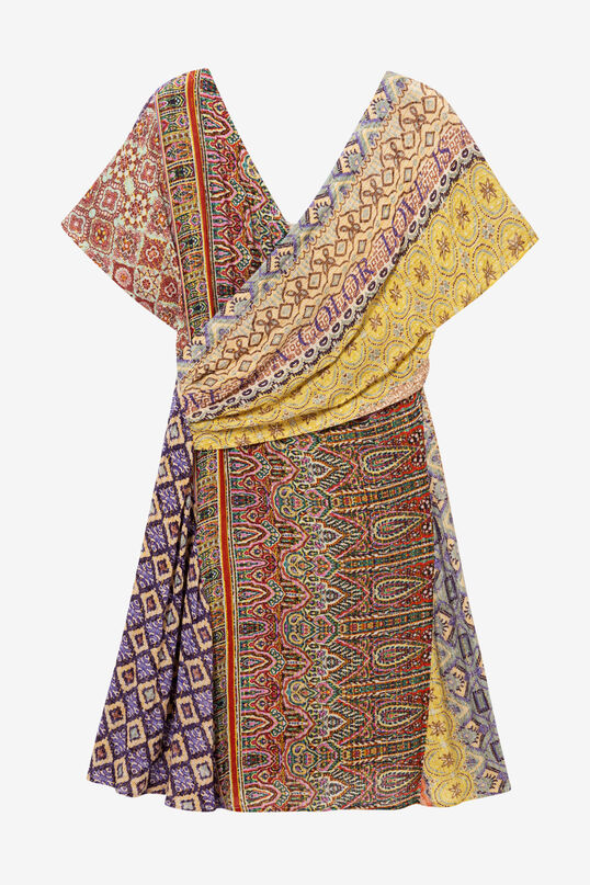 Robe croisée indian Clanzie   Desigual