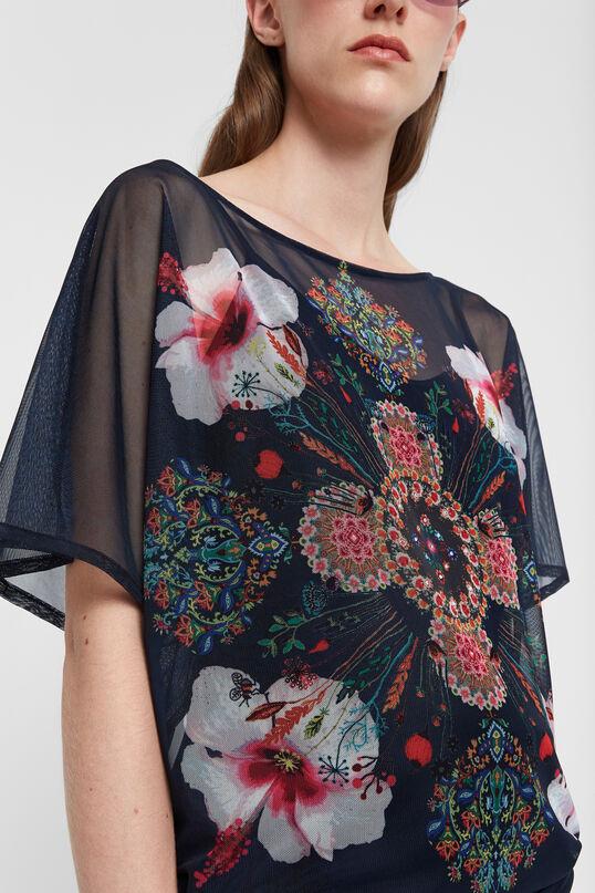 Samarreta flors màniga curta | Desigual