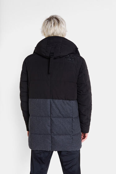Padded parka with hood | Desigual