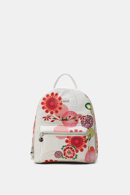 Mini-backpack rounded silhouette