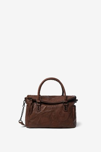 Sac en simili cuir pliable