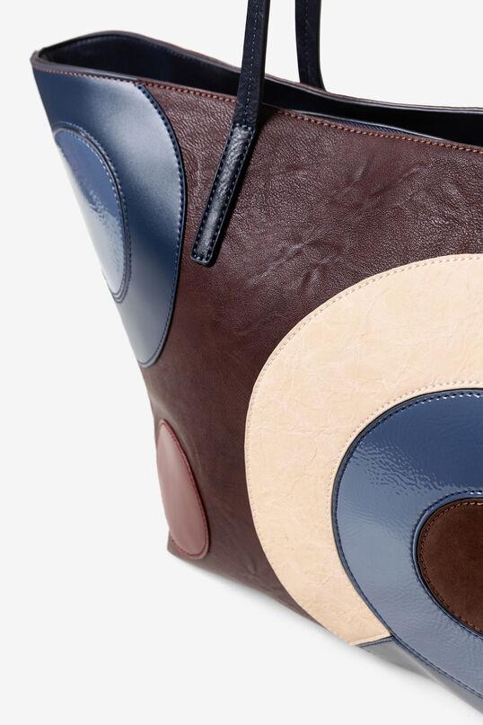 Geometric shopping bag   Desigual
