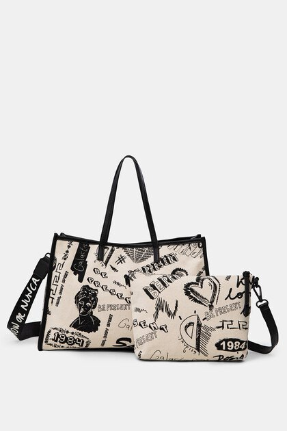 Shopping bag toile imprimé