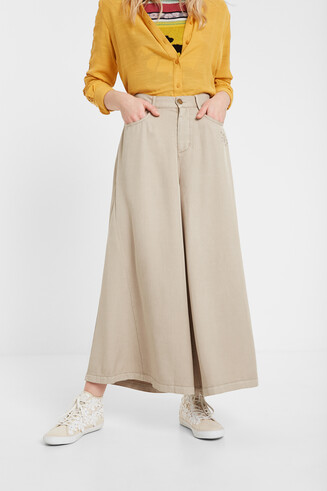 Jeans wide leg Tencel™