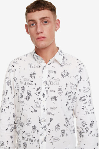 Camisa slim bolimania