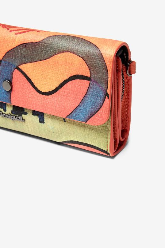 Arty rectangular coin purse | Desigual