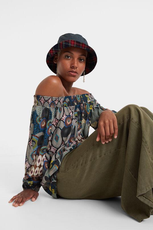 Bluse mit Carmen-Ausschnitt Melina   Desigual