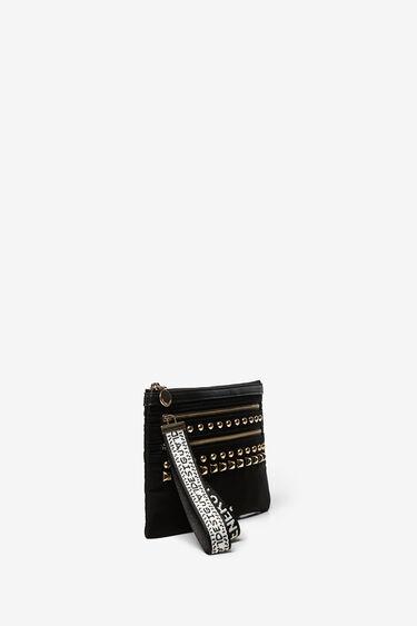 Maxi zip-pull wallet | Desigual
