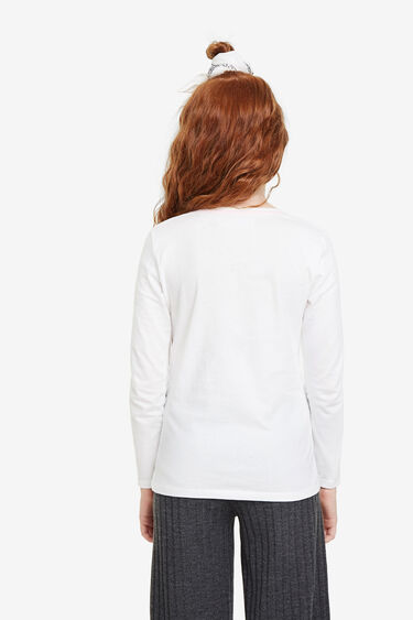 Basic T-shirt reversible sequins | Desigual