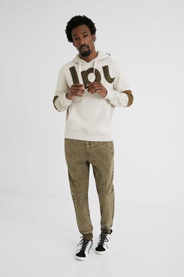 Sweater mit Kapuze | Desigual